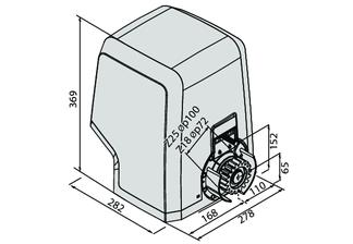 технический чертеж ICARO SMART AC A